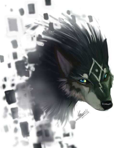 And Wolf Twilight Princess D0291 twilight princess wolf link snow twilight and in the light