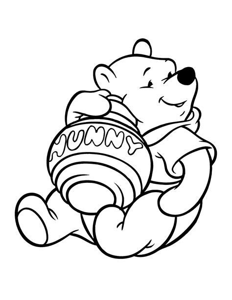 10 Mewarnai Gambar Winnie The Pooh