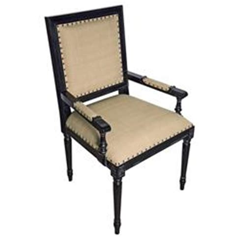loire country light beige linen country rubbed black wood arm chair kathy kuo home
