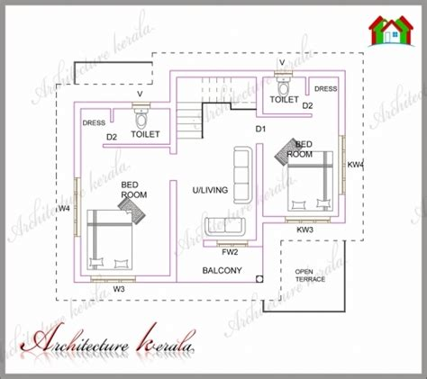 kerala house plans autocad drawings stunning a small kerala house plan architecture kerala 4