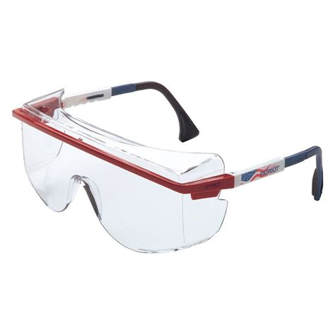 uvex 174 s2530 astro the glass safety glasses with patriot frames clear lens