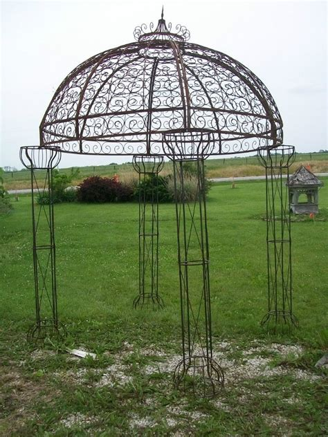 Wrought Iron Garden Gazebo » Home Design 2017