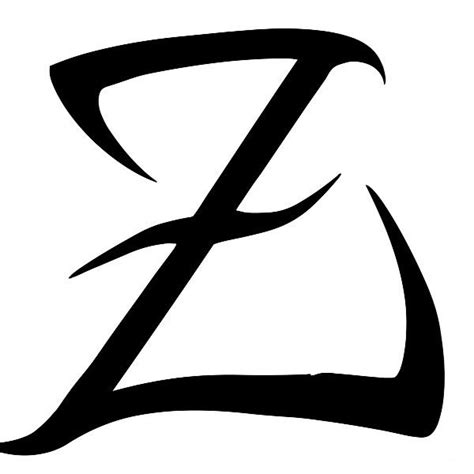 letter z tattoo designs letter z dr