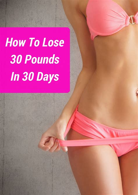 Shed 30 In 30 how to lose 30 pounds in 30 days 12 steps anyone can do