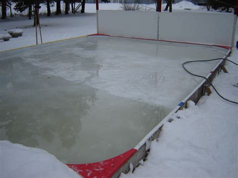 backyard rink resurfacer ice rink flooder