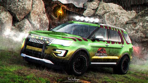 jurassic world jeep scene 2016 ford explorer photos autos post