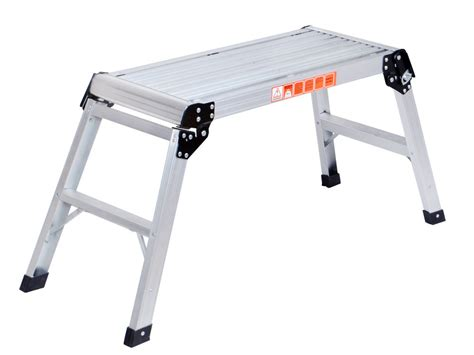 aluminum work bench 20 inch high aluminum platform folding work bench drywell