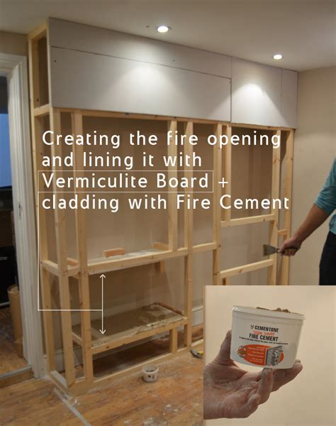 Fire Place Ideas by How To Build A Fake Chimney Breast With Bio Ethanol Burner