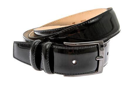 Handcrafted Belts - handcrafted black patent s belt belts buckles