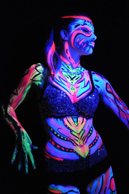 glow in the liquid paint glow in the paint get paint here http www