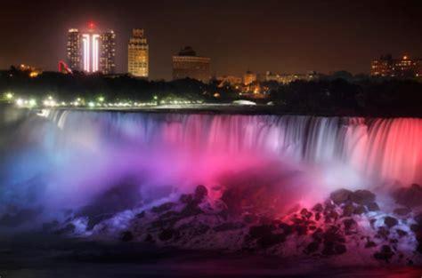 Niagara Falls Evening Lights Day Trip From Toronto 2017 Lights Niagara Falls