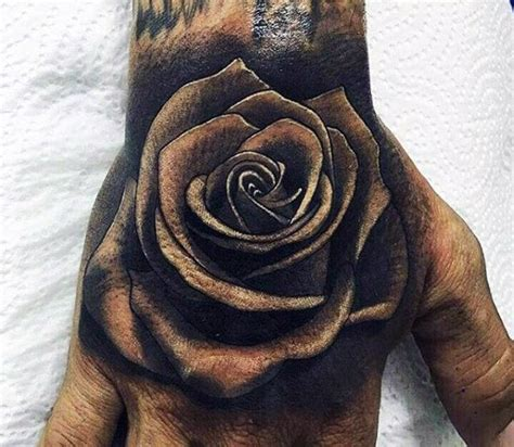 masculine rose tattoo 50 3d designs for masculine ink ideas