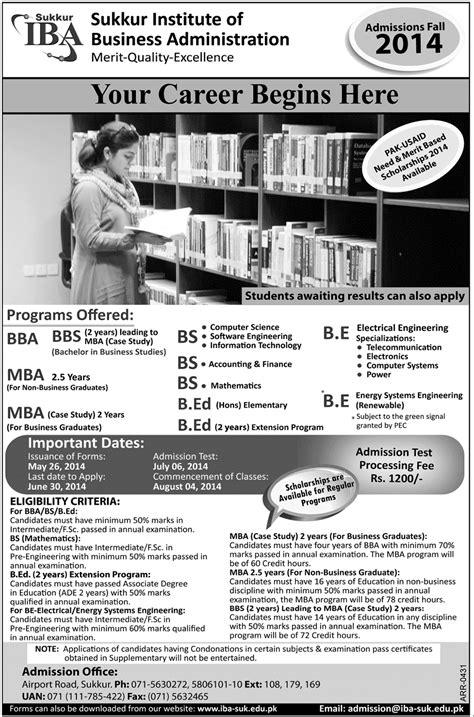 Mba Admission Criteria In Iba Karachi by Jinnah Sindh Jsmu Entry Test Date 2016