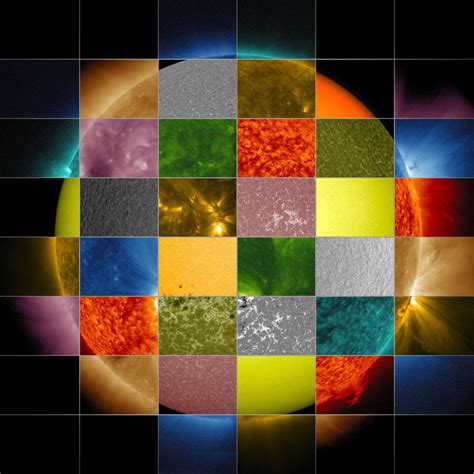 different color lights sun primer why nasa scientists observe the sun in