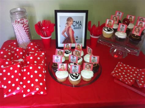 Taylor Swift Themed Birthday Party | 17 best images about taylor swift bday on pinterest