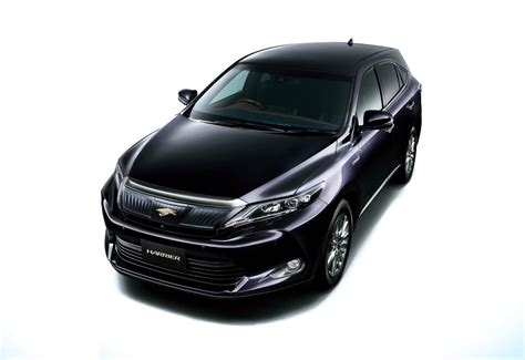 2015 toyota harrier 2015 toyota harrier gets redesigned