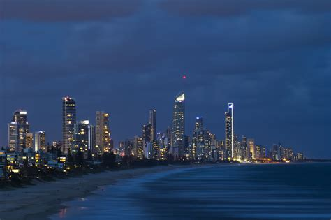 wallpaper gold coast queensland lights on 5k retina ultra hd wallpaper and background