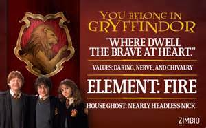 harry potter haus test which hogwarts house do you belong in quizes house and