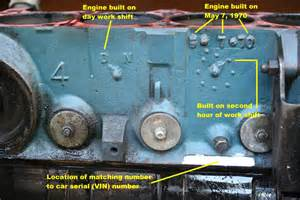 Chrysler Engine Identification The Block Number On My Truck Engine I Find