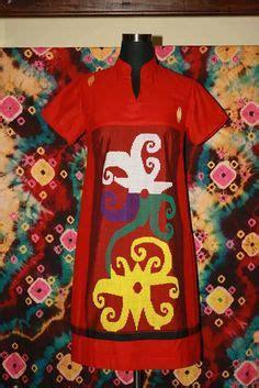 Dress Tunic Batik Asli batik blouse indonesia style blouses