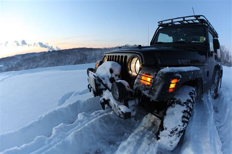 Jeep In The Snow 4x4 Icon Big 2 6 10 Part 2