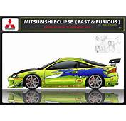 Mitsubishi Eclipse Fast  Furious Paul Walker By Fab562 On