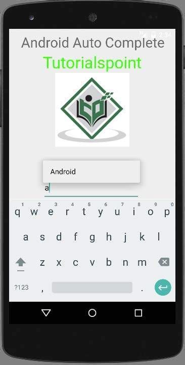 android studio complete tutorial android auto complete tutorial