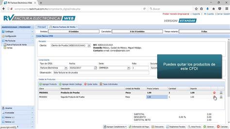factura electronica web service cfdi cfdi 3 2 en rv factura electr 243 nica web youtube