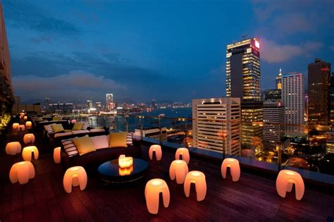 Top Bars In Hong Kong by Best Bars With A View In Hong Kong Nightlife Cond 233 Nast