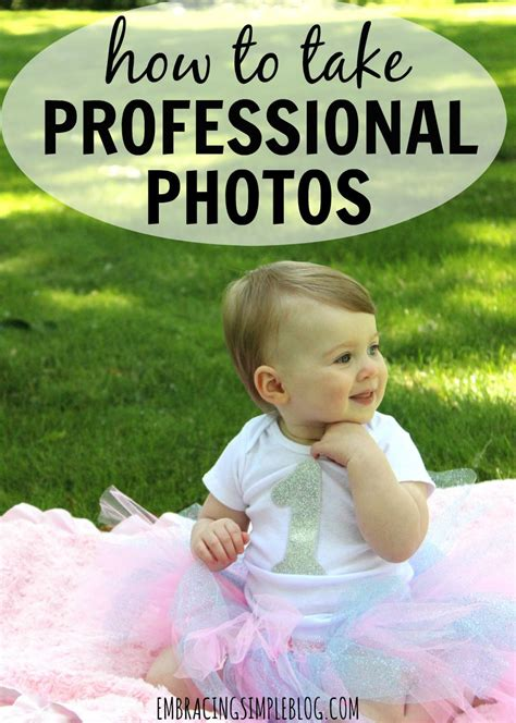 how to take professional pictures at home easy ways to take professional looking photos embracing