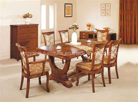 Dining Room Table Chairs China Dining Room Furniture Wooden Furniture A89