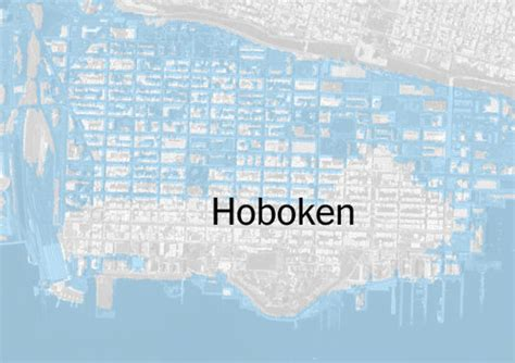 hoboken flood map plan to flood proof hoboken runs into a wall the new