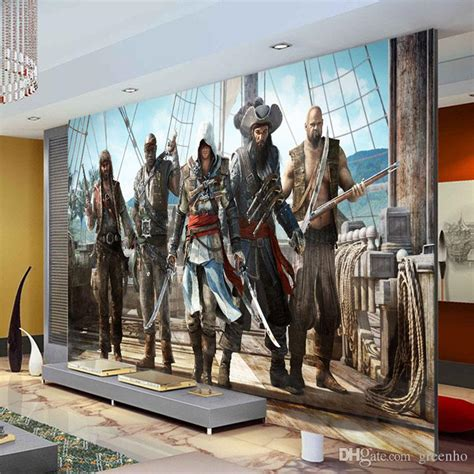 wallpaper game stores assassion s creed wallpaper video game wall mural 3d view