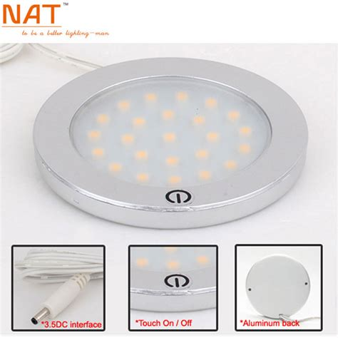 Small Flat Led Lights by Modern Small Led Lada Touch Lights L Dia 68mm 12v