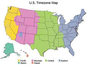us timezone map quiz geography us maps time zones