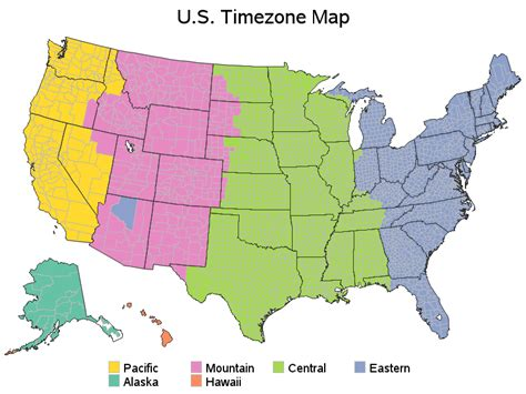 time change map time change map usa