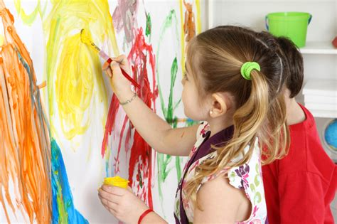 children s painting children arts and crafts finger painting colors fall