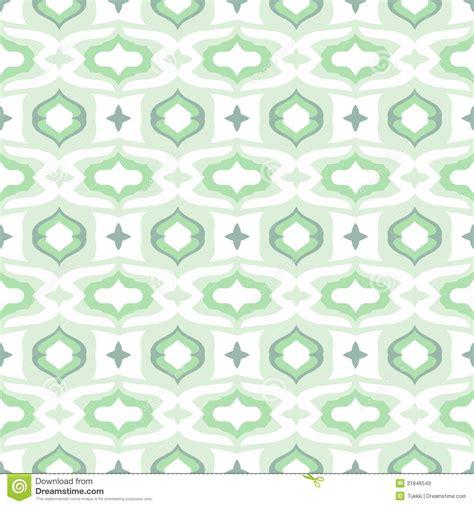 pattern  arabic motifs  cool mint green stock vector