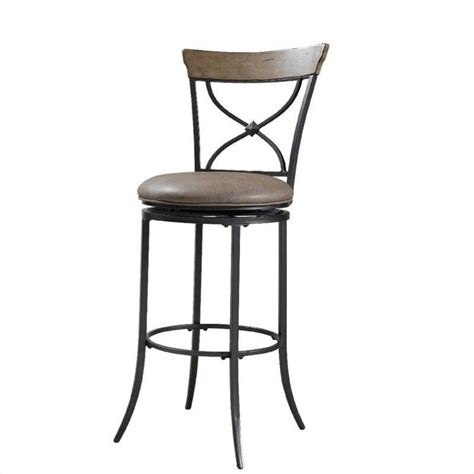 30 swivel bar stools with back hillsdale charleston 30 quot x back swivel bar stool in tan