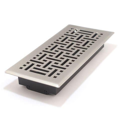 10 In X 30 In Floor Register - accord amfrsnb410 floor register with wicker design 4