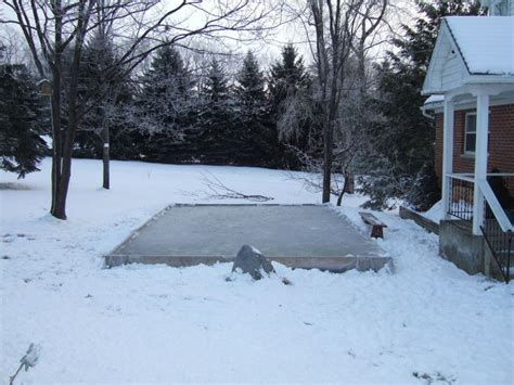 backyard ice rink plans backyard ice rink instructions outdoor furniture design