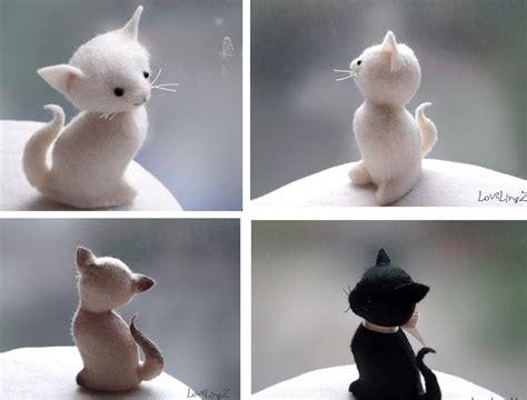 Cute Kitty Pattern And Tutorial | cat pattern and tutorial lovelingz little kitty cat felt