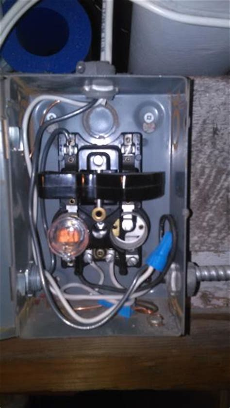safety disconnect switch wiring doityourselfcom