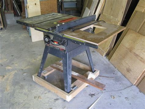 diy table saw stand with wheels table saw mobile base diy version by joel wires