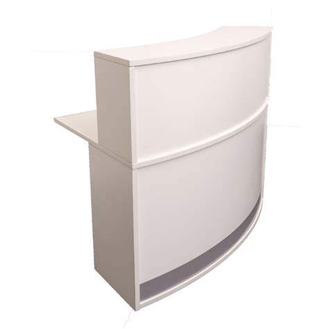 Evolve Small Reception Desk Value Office Furniture Reception Desk Section