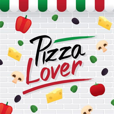 Pizza Lover pizza lover typography vector free vector