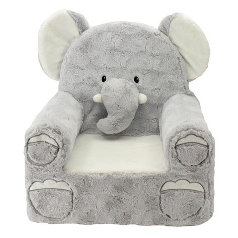 Stuffed Animal Chairs by Elephant Toddler Plush Chair Animals Theme Toddler Plush