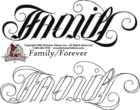 family forever tattoo designs family forever ambigram design
