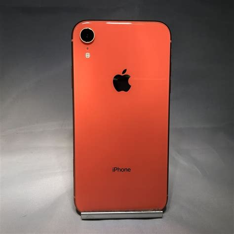 apple iphone xr gb coral unlocked  good condition
