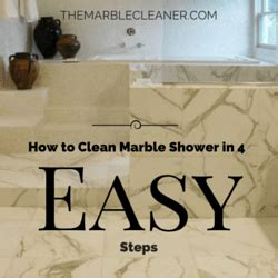 How To Clean Bathroom Marble by How To Clean Marble Shower In 4 Easy Steps The Marble